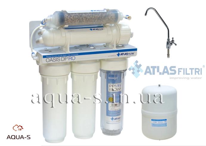 Система обратного осмоса Atlas Filtri OASIS DP UV с ультрафиолетовой лампой (RE6075332)