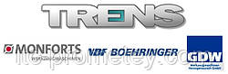 Trens надежный партнер в ODM проектах по производству станков для европейских брендов