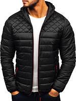 Черная демисезонная мужская куртка, Турция