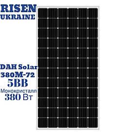 Солнечная панель 380 W DAH SOLAR DHM72-380, батарея монокристалл, 380 Вт, 5 ВВ