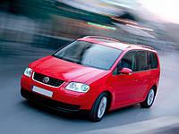 Дефлектор на капот (мухобойки)  Volkswagen Touran 2003-2007 г.