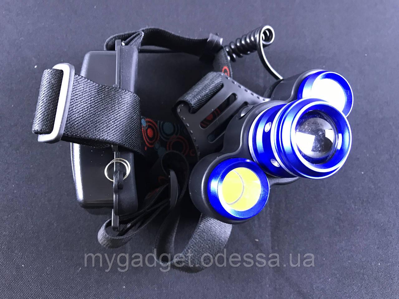 Тактический налобный фонарь BL-C861-T6 4 режима