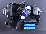Тактический налобный фонарь BL-C861-T6 4 режима, фото 2