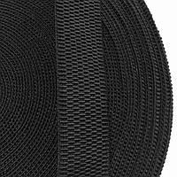 Резинка тканая 030мм цв черный (уп 25м) 3254 Укр-з