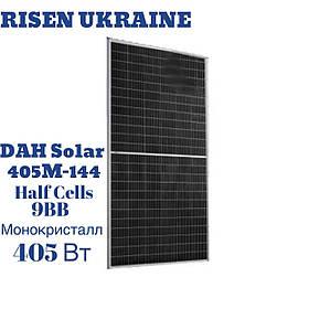 Солнечная панель DAH Solar Half-Cell HCM72X9, монокристалл, 405 Вт, 9 ВВ, 144 CELL