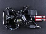 Тактический налобный фонарь POLICE BL-2188B, фото 4