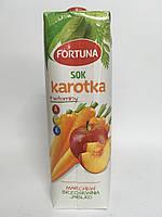 Сок мультифруктовый фортуна, Fortuna 1л
