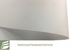 Дизайнерський папір Ultrawhite Ivory Board з тисненням льон, біла, 100 гр/м2