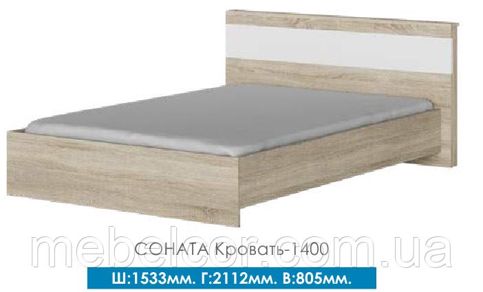 Кровать 1400 соната