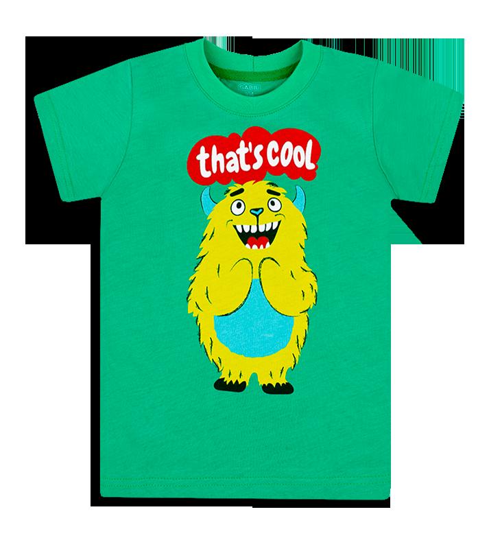 Детская футболка для мальчика FT-20-15-3 *Чувачки*