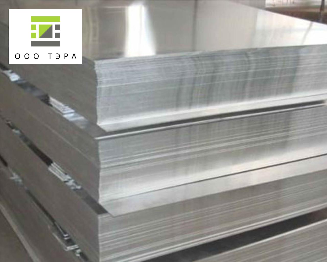 Лист алюминиевый 1.0 мм Д16АМ 1500х4000 дюраль