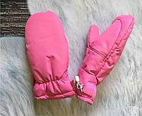 Краги для малышей розовые