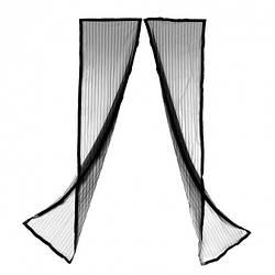 Магнітна антимоскітна штора на двері 90 см * 210 см , антимоскітна сітка на двері