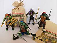 Набор игрушек Черепашки-Ниндзя 4 шт, фото 1