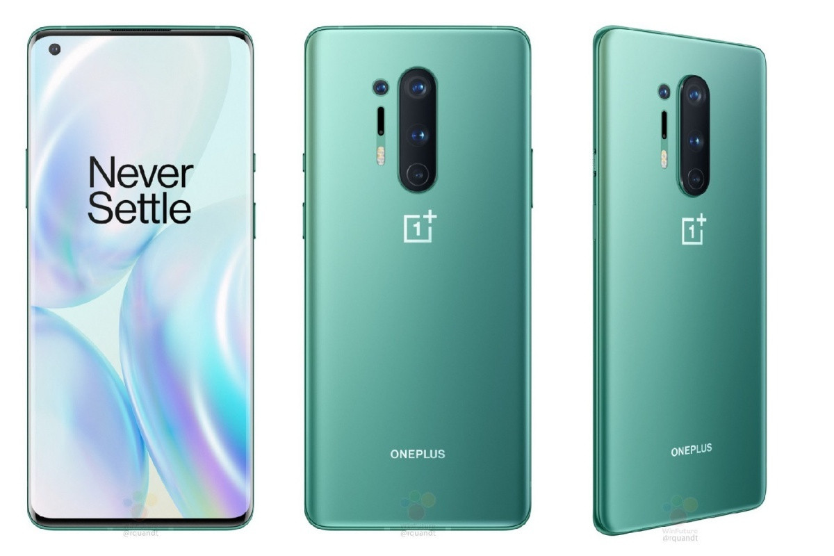 OnePlus 8 8/128GB (Glacial Green)