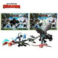 Набор игрушек из мультфильма Как приручить дракона Dragons
