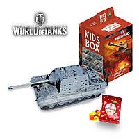 """Кидс бокс - Свитбокс коллекционная фигурка """"World of tanks"""" жевательный мармелад с натуральным соком"""