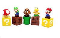 Фигурки героев мультфильма Супер Марио 5 штук, фото 1