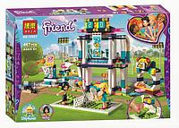 """Конструктор Bela Friends 10857 """"Спортивная арена для Стефани"""" (аналог Lego Friends 41338), 467 деталей"""