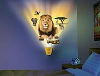 Светильник-декорация на стену в детскую комнату Король Лев