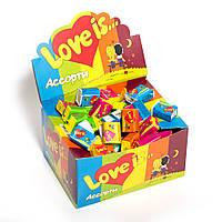 Love is  Ассорти жевательная резинка love is жвачка