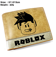 Роблокс Кошелек  кожанный  по мотивам игры  Roblox, фото 1