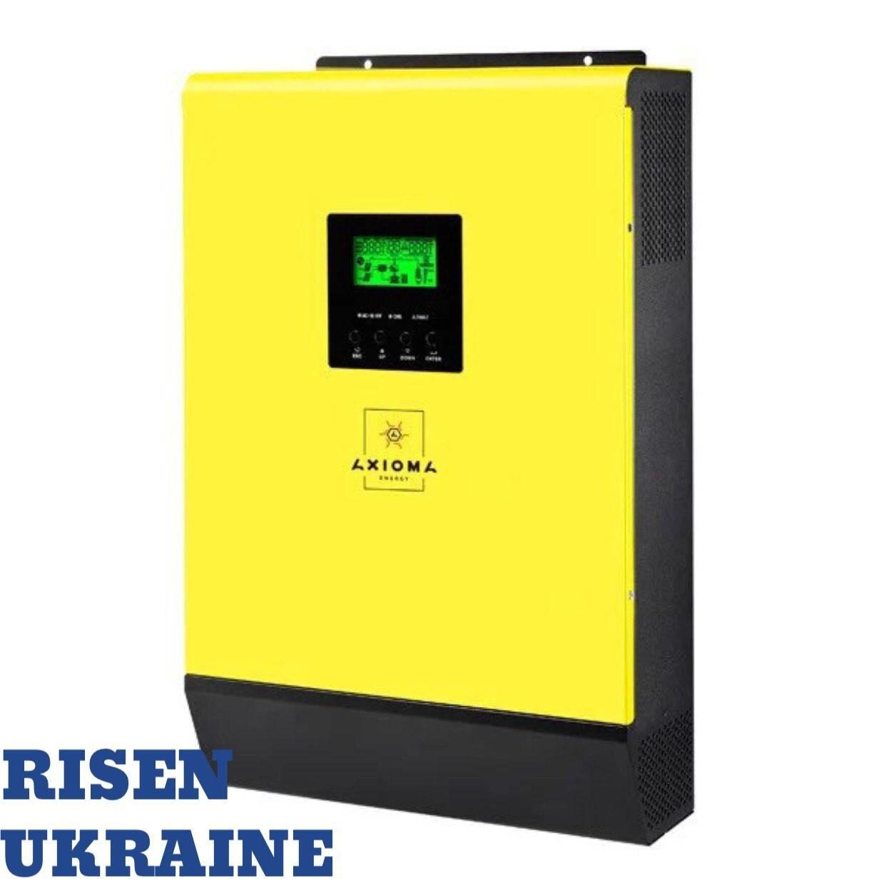 Сетевой солнечный инвертор с резервной функцией ISGRID-BF 3000 AXIOMA energy