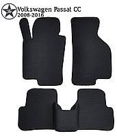 Коврики EVA в салон Volkswagen Passat CC 2008-2012. Star-Tex.