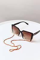 Практичная цветная цепочка для очков