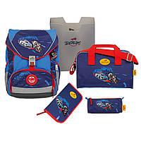 DerDieDas ранец для первоклассника Крутой вираж Машинка школьный рюкзак премиум класса Германия