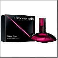 Calvin Klein Deep Euphoria парфюмированная вода 100 ml. (Кельвин Кляйн Дип Эйфория), фото 1