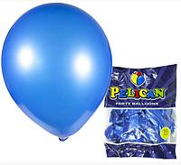Шарики Pelican 12' (30 см), перламутр синий, 50шт/уп