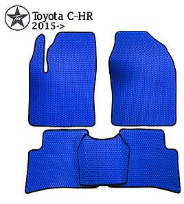 Коврики EVA в салон Toyota C-HR 2016-. Star-Tex.