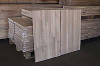 Мебельный щит 800x400x20 мм из ясеня цельноламельный