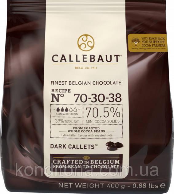 Молочний шоколад Barry CALLEBAUT каллети, пак 0,4 кг фирменная упаковка