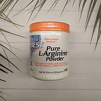 L-Аргинин Doctor's Best Pure L-Arginine Powder чистый порошок аргинина гидрохлорида 300 g Doctors
