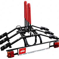 Багажник велосипедный на фаркоп Amos Platforma 3 для 3-х велосипедов