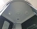 Гидромассажный бокс 100х100 с низким поддоном Atlantis AKL 50P-T Grey тонированный, фото 5