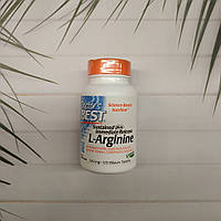 L-Аргинин Doctor's Best Sustained Plus Immediate Release L-Arginine, 500 mg, 120 Tab аргинин
