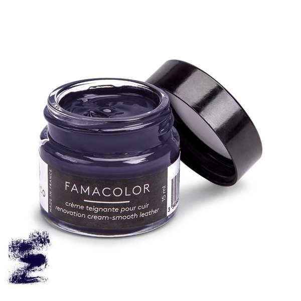 ✅ Жидкая кожа для обуви и кожаных изделий глубокого фиолетово-черного цвета Famaco Famacolor, 15 мл