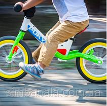 """Детский беговел Puky LR Ride Splash(бело-салатовый), колесами 12,5"""", амортизатор"""