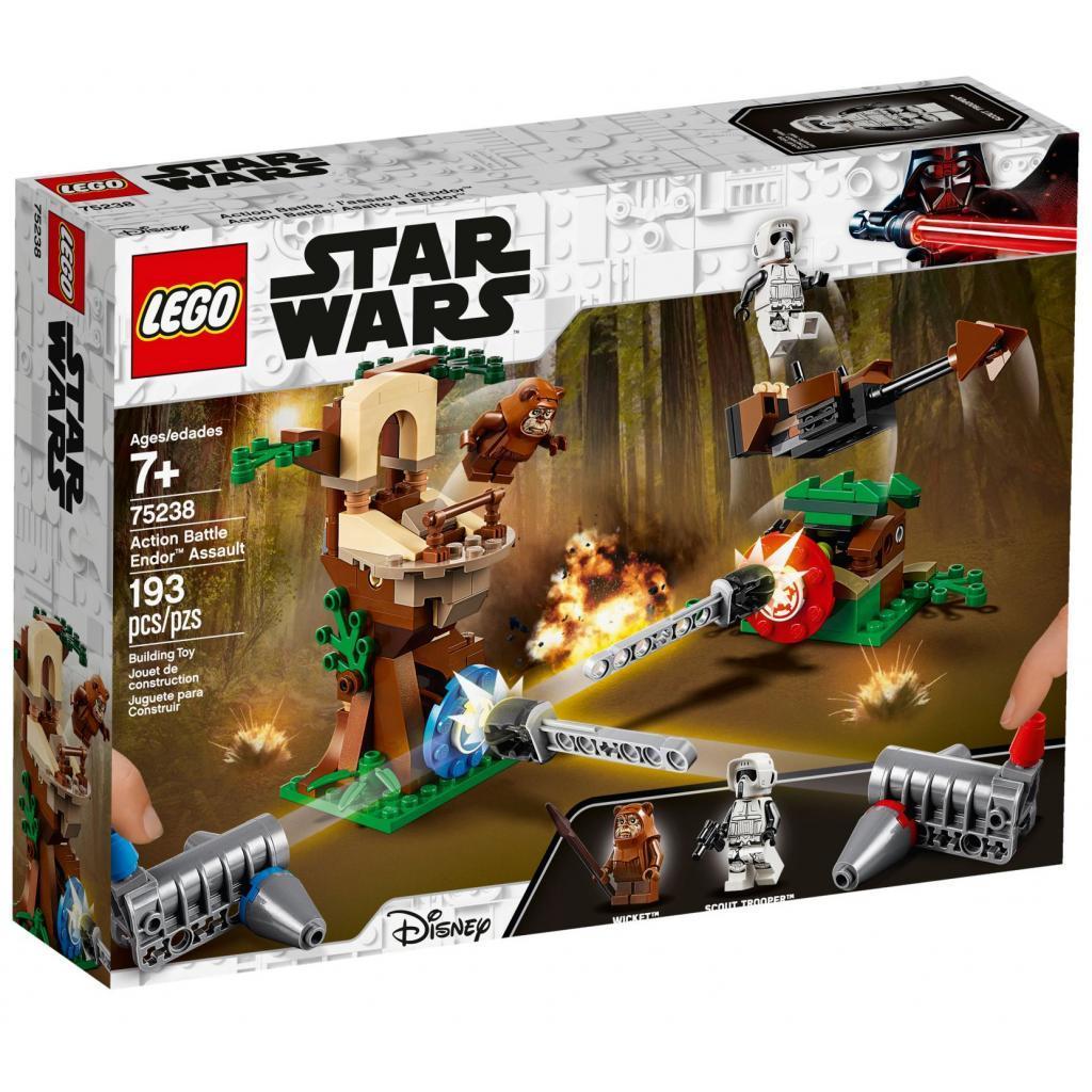 Конструктор LEGO Star Wars Нападение на планету Эндор 193 детали (75238)