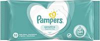 Влажные салфетки Pampers Sensitive, 52 шт.