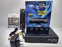 Ресивер Sat-Integral SP-1329 HD Combo DVB-S2/T2 Спутниковый и Т2 тюнер Комбинированный