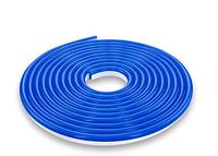 Светодиодный гибкий неон 35/28 120 led ip65 синий