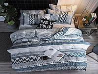 Двуспальный Комплект постельного белья из Бязи (Хлопок) GOLD LUX Постільна білизна