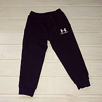 ✅Спортивные штаны с манжетами для мальчика синие Размеры  104