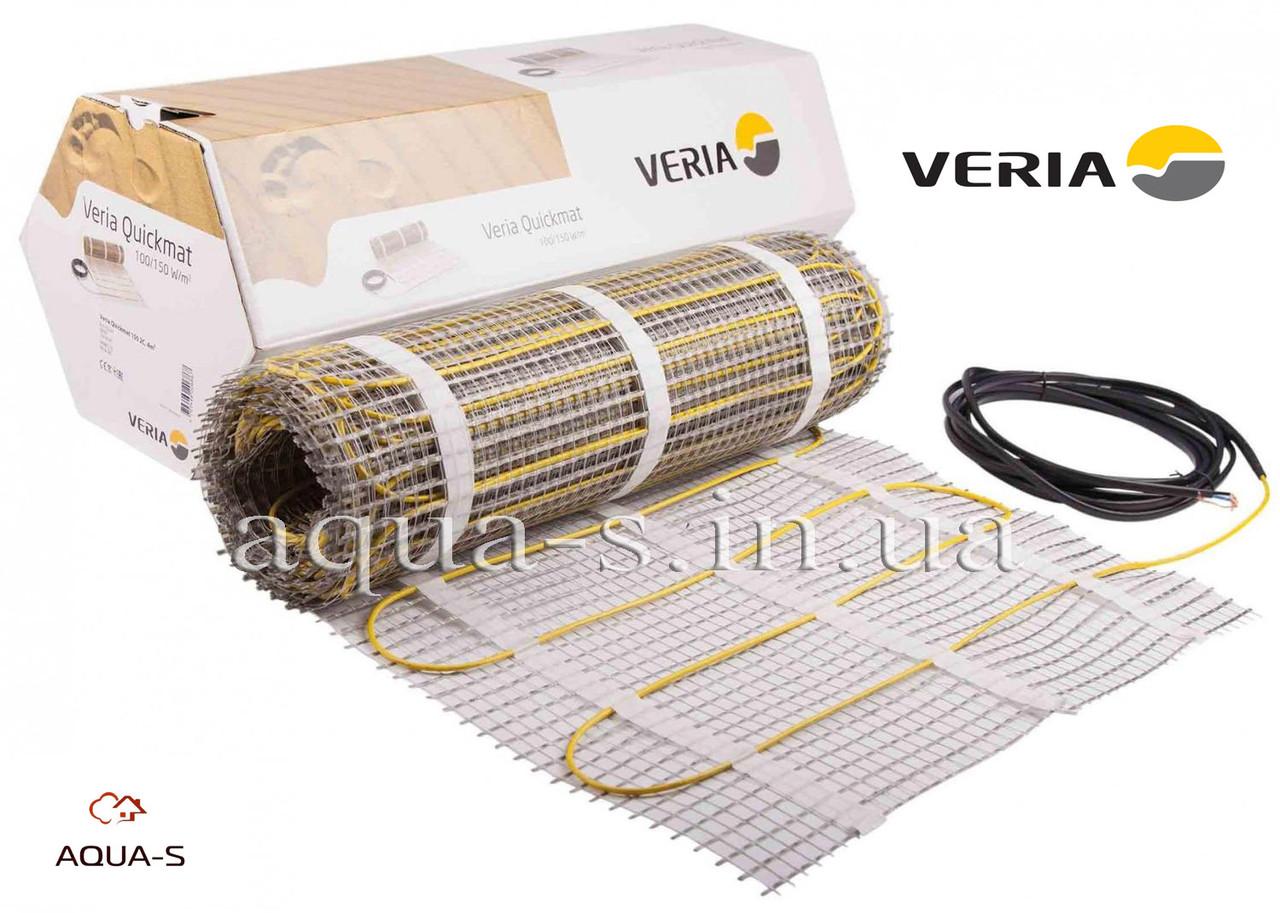 Мат нагревательный Veria Quickmat 150  (8 м2 / 1200 Вт) двухжильный 189B0178 (Польша)