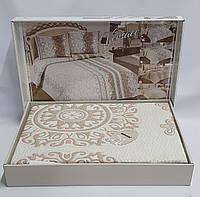 Покрывало My Bed Жакард 170x240 с наволочкой Onella Pudra