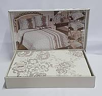Покрывало My Bed Жакард 170x240 с наволочкой Eda Bej